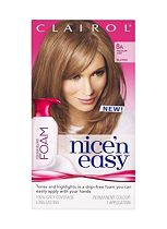 Nice 'n Easy Permanent Colour Blend Foam 8A Medium Ash Blonde