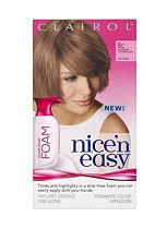 Nice 'n Easy Permanent Colour Blend Foam 8C Medium Champagne Blonde