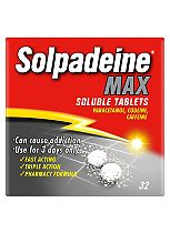 Solpadeine Max Soluble Tablets - 32 tablets