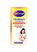 Calcough Children's Soothing Syrup 1+ year Black current  - 125ml