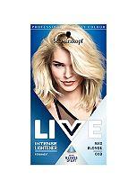 Schwarzkopf LIVE Intense Lightener 00B Max Blonde Hair Dye