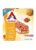 Atkins Day Break Strawberry Crisp Bars 15x37g bar