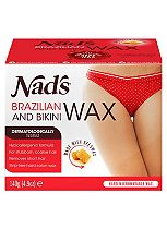 Nads Brazilian & Bikini Wax With 4 Bikini Shapes 140g