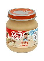 Cow & Gate Fruity Muesli from 6m Onwards 125g