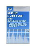 Boots St John's Wort tablets - 30 x 250 mg