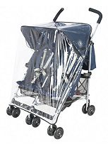 Maclaren Twin Triumph & Twin Techno Pushchair Replacement Raincover 2012