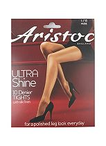 Aristoc 10 Denier Ultra Shine Tights Nude 1 Pair Pack