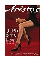 Aristoc Ultra Shine Vaguely Black 10 Denier Tights