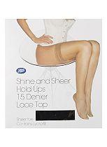 Boots Shine & Sheer Hold Ups -Natural Tan