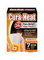 Cura-Heat Back & Shoulder Pain - 7 packs