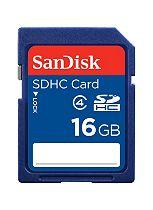 SanDisk SDHC Memory Card- 16GB