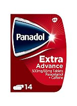 Panadol Extra Advance 500 mg/65 mg Tablets - 14 Tablets