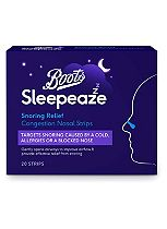 Boots Pharmaceuticals Re:Balance Snoring Nasal Strips (20 Strips)