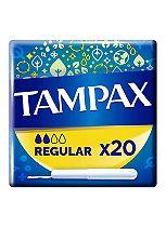 Tampax Cardboard Applicator Regular 20 Tampons