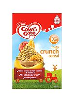 Cow & Gate Sunny Start from 10m onwards Fruity Crunch Cereal 250g