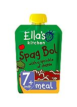 Ella's Kitchen Lip Smacking Spag Bol with a Sprinkle of Cheese Stage 2 from 7 Months 130g