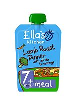 Ella's Kitchen Lovely Lamb Roast Dinner with all the Trimmings Stage 2 from 7 Months 130g