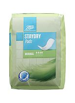 Boots Pharmaceuticals Staydry Normal Pads (12 Pads)