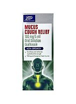 Boots Mucus Cough Relief - 150ml