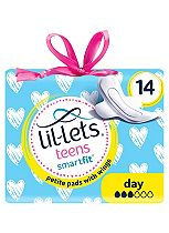 Lil-Lets teens Day Ultra Towels with Wings 14 Pack