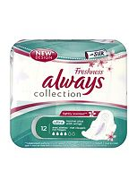 Always Ultra towels Fresh with silk - normal plus wings 12s