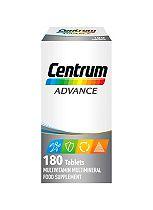Centrum Advanced Multivitamins - 180 Tablets