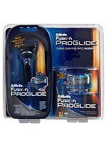 Gillette Fusion Proglide manual razor +3 blades