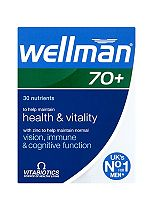 Vitabiotics Wellman 70+ 30 Tablets