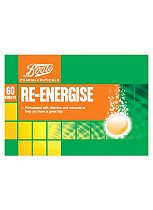 Boots Re:Balance Re-Energise Effervescent Orange Flavour (3 Pack / 60 Tablets)