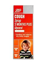 Boots Cough Syrup 3 Months Plus (100ml)