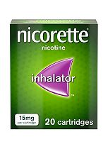 Nicorette 15mg inhalator (20 cartridges)