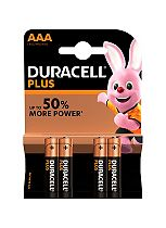 Duracell Power Plus AAA batteries 4 pack