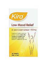 Kira Low Mood St John's Wort Extract Tablets - 30 x 450 mg