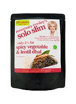 Rosemary Conley Solo Slim Spicy Vegetable & Lentil Dhal (300g)