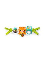 Bright Starts Take Along Tiger Toy Bar