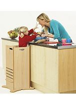 Little Helper FunPod Kitchen Safety Stand in Maple/Natural
