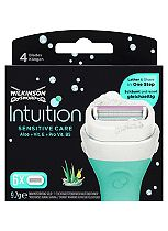 Wilkinson Sword Intuition Naturals Sensitive Care Replacement Blades 6s