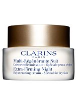 Clarins Extra-Firming Night Rejuvenating Cream - Special for dry skin 50ml