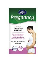 Boots Pharmaceuticals Pregnancy Support - 30 tablets