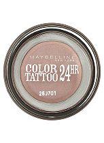Maybelline EyeStudio Color Tattoo 24hr Cream Gel Eyeshadow