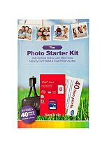 Sandisk media card starter kit plus pack