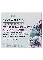 Botanics Radiant Youth Protecting Day Cream SPF15 50ml