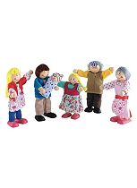 ELC Rosebud Doll Family