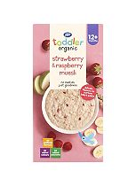 Boots Baby Organic Strawberry & Raspberry Muesli Stage 3 12months+ 350g