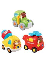 VTech Baby Toot-Toot Drivers 3 Car Pack Construction Vehicles