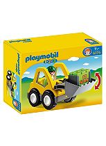 Playmobil 1.2.3 Front Loader