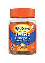Seven Seas Haliborange Kids Multivitamin + Omega-3 30 Orange Fruit Shapes