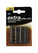 Boots Extra Long Life AA Batteries x4