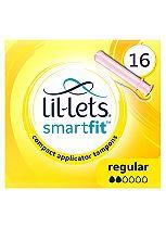 Lil-Lets Applicator Tampons Regular 16 Pack