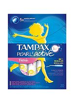 Tampax Pearl Active Fresh Regular x20 Tampons